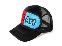 凯维帽业-毛巾绣网帽定做 -BM050