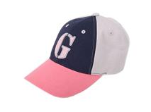 凯维帽业-儿童 女士G字撞色拼接棒球帽 -BM051