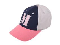 凯维帽业-儿童M字撞色拼接六页帽 棒球帽定做-BM052