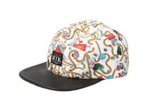 凯维帽业-时尚皮帽五片帽定做 -PM016