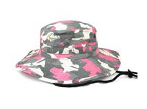 凯维帽业-男女款迷彩户外桶帽定做-YM042