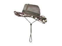 黑白视频体育直播-迷彩透气边帽渔夫帽定做 -YM044