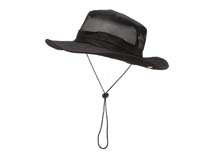 凯维帽业-黑色渔夫边帽定做-YM050