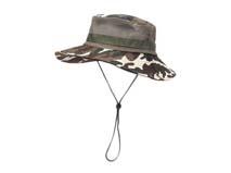 黑白视频体育直播-森林迷彩渔夫帽定做 -YM052