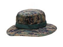 凯维帽业-方块森林迷彩边帽定做-YM053