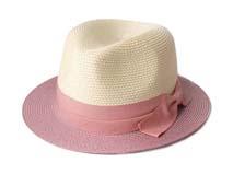 凯维帽业-时尚撞色草帽定做 -CZ018