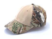 凯维帽业-森林迷彩棒球帽定做-BM053