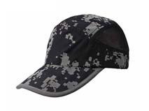 凯维帽业-黑色迷彩帽定做 -HT010