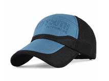 凯维帽业-撞色拼接运动帽定做 -HT011