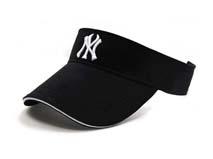 凯维帽业-纯色空顶遮阳帽定做 -KM008