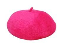 凯维帽业-简约款兔毛贝雷帽定做-FH019