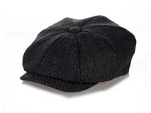 黑白视频体育直播-时尚斜纹八页帽贝雷帽定做-FM021