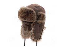凯维帽业-野外质感真皮雷锋帽定做-LF015