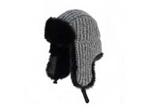 黑白视频体育直播-保暖针织雷锋帽定做-LF023