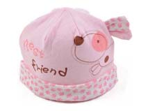 凯维帽业-可爱卡通婴儿套头帽定做-AM015