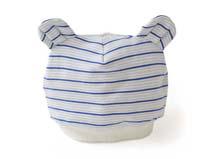 凯维帽业-耳朵条纹婴儿帽定做-AM031