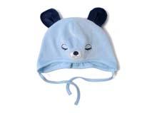 凯维帽业-卡通小熊婴儿帽定做-AM035