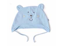 凯维帽业-卡通小熊耳朵婴儿帽 -AM036