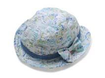 凯维帽业-婴儿儿童碎花太阳帽-AM041