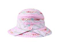 凯维帽业-儿童拼布蝴蝶结小边帽时尚 -RM001