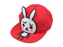 凯维帽业-帽子工厂儿童平板帽兔子定做定制-RM007