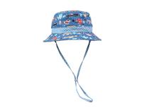 凯维帽业-儿童户外防嗮遮阳印花小水桶帽定做-RM015