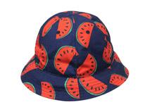 凯维帽业-儿童水果西瓜遮阳太阳小边帽定做 -RM016