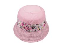 凯维帽业-新款女童碎花小边帽定做 -RM013