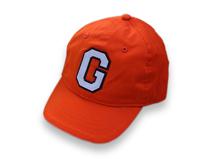 凯维帽业-儿童橙色G字棒球帽-RM019