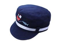 凯维帽业-儿童军帽 平顶帽定做 -RM025