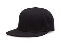 凯维帽业-纯色麦呢羊毛平板帽定制-PW024
