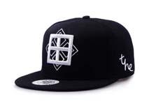 凯维帽业-黑色平板帽定做-PJ026