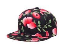 凯维帽业-水果满印平板帽定制-PJ030