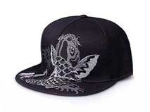 凯维帽业-艺术刺绣 平板帽定做 -PM034