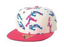 凯维帽业-3D眼镜 白色平板帽定做-PJ056