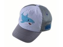 凯维帽业-儿童鲨鱼网帽 棒球帽定做-RM040