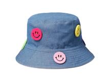 凯维帽业-2015新款儿童笑脸遮阳帽-RM045