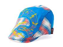 凯维帽业-儿童拼接音乐符号鸭舌帽定做-RM070