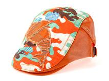 凯维帽业-儿童贴布绣急帽 鸭舌帽定做 -RM083