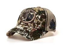 凯维帽业-水洗做旧 复古棒球帽定做 -BM063