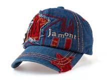 凯维帽业-牛仔水洗儿童帽 -BM066