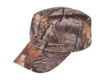 凯维帽业-森林迷彩平顶帽军帽定做-JM032