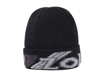 凯维帽业-男士简约折边针织帽定做-ZM035