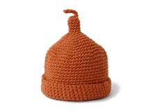 凯维帽业-纯色简约尖顶针织帽定做-ZM036