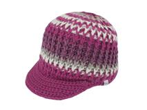 凯维帽业-粗毛线混色时装针织帽定做-ZM041
