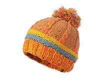 凯维帽业-混色毛毛球针织帽定做 新款-ZM043