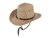凯维帽业-春夏镂空透气大边遮阳沙滩定型草帽定做-CZ054
