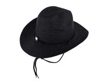 凯维帽业-纯色简约大边沙滩遮阳定型草帽 男女款定做-CZ055