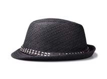 凯维帽业-纯色斜纹柳丁户外遮阳定型草帽定做-CZ058