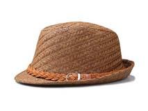凯维帽业-纯色斜纹辫子折边遮阳时装草帽定做 -CZ061